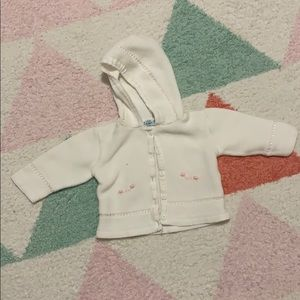 Other - 💕 sweet baby sweater with embroidery.